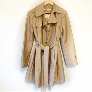 Kenneth Cole classic caramel trench coat size XL